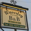 Waverley park lodge b&b all rooms ensuite outdoor sign